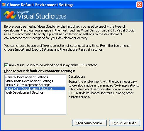 Visual Studio Starter