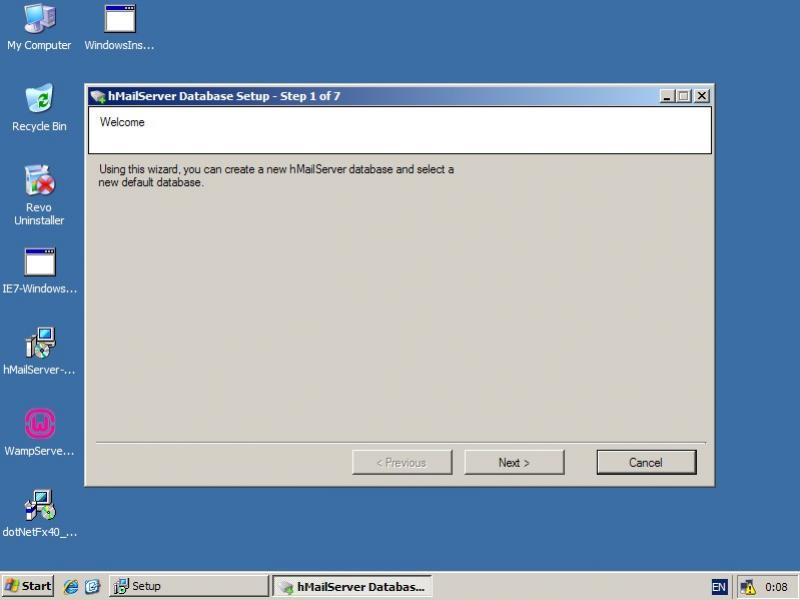 hMailServer 5 3 3 installation step by step by PlaKriM