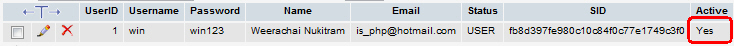 PHP Register and Email Activation