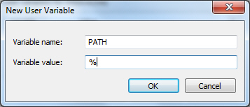 Environment Variable PATH Windows 7