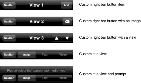 iOS/iPhone Navigation Controller and Storyboard