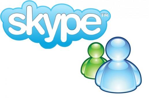 วิธีการเปลี่ยน MSN เป็น Skype