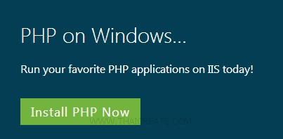 IIS and PHP