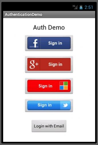 Authentication in Azure Mobile Services