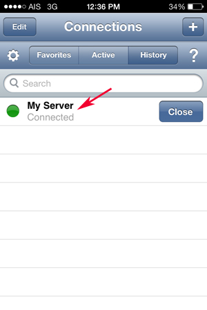 iPhone iOS Remote SSH (Linux)