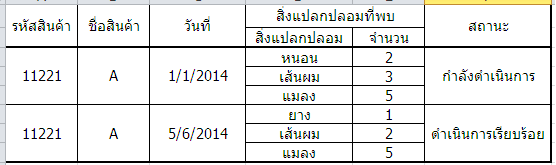 รูปจาก Excel