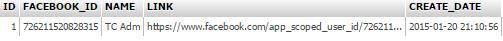 Facebook Login PHP and MySQL
