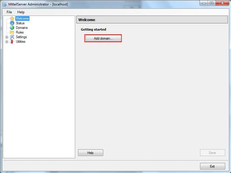SMTP E-Mail Windows 7