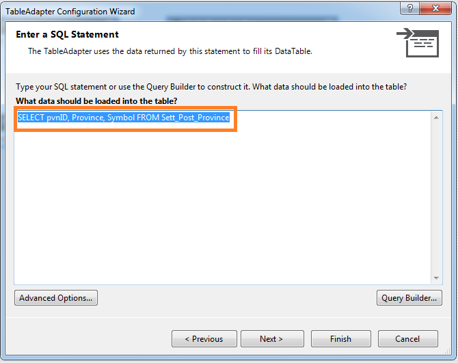 DataTable กับ DataGridView (MS Access 2007)