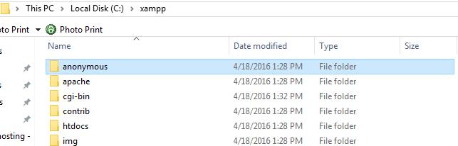 folder-xampp