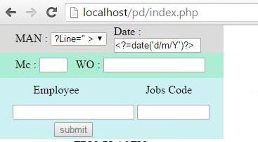 code php ไม่ทำงาน
