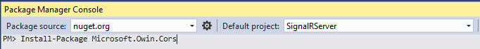 Windows Form SignalR Real Time 9