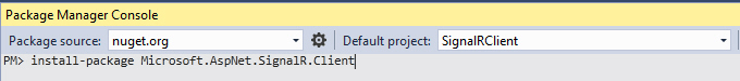 Windows Form SignalR Real Time 23