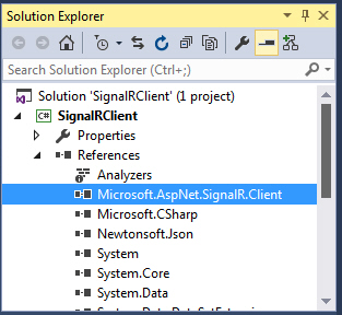 Windows Form SignalR Real Time 24