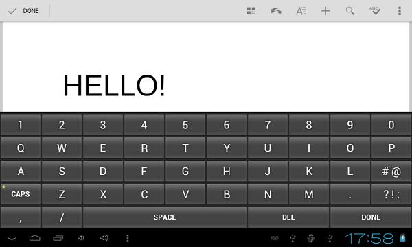 Android Custom Keyboard
