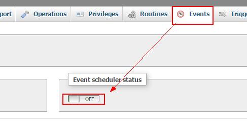 Event Job Schedule MySQL and MariaDB