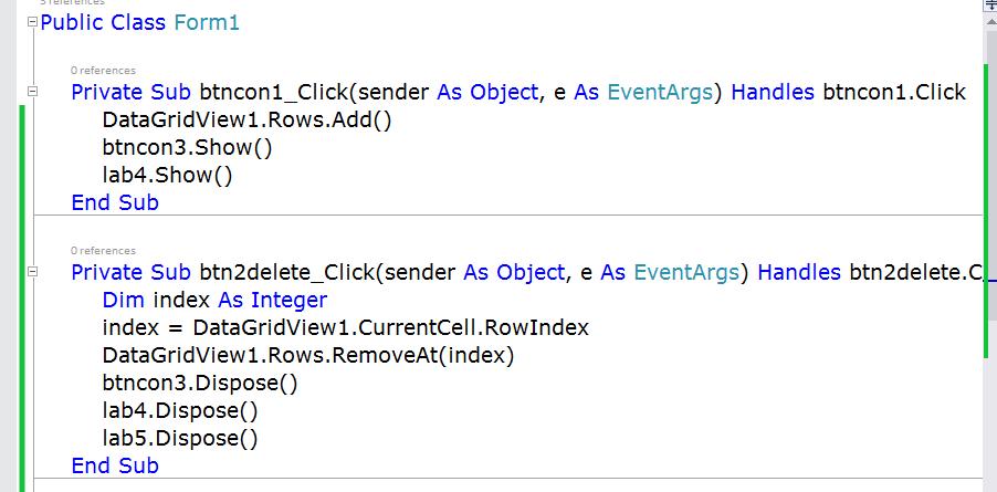Code เพิ่ม + ลบ