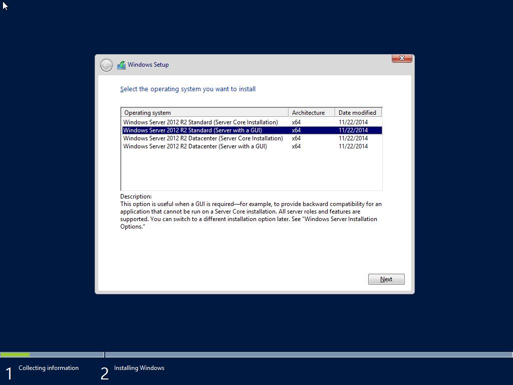 ติดตั้ง Server 2012-Part2