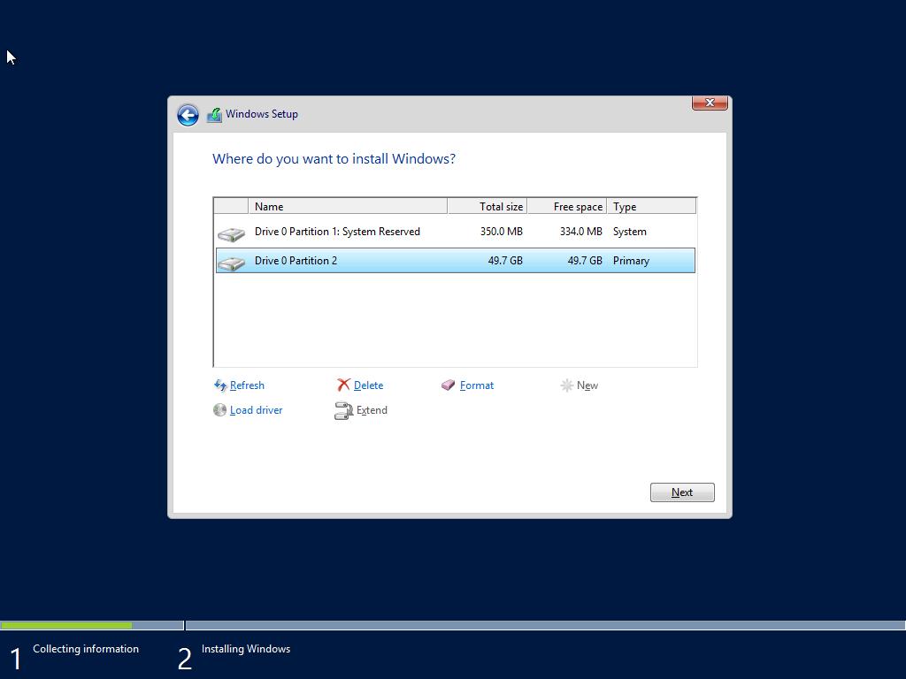 ติดตั้ง Server 2012-Part4