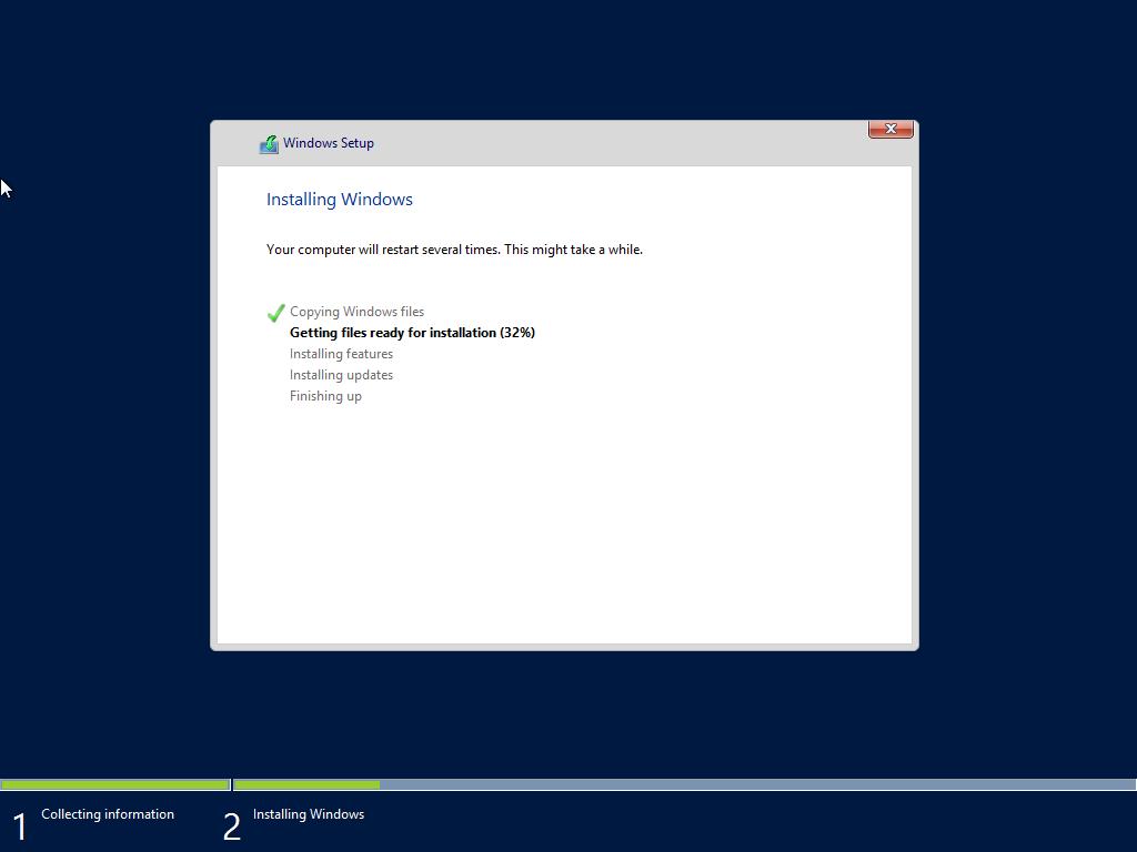 ติดตั้ง Server 2012-Part5