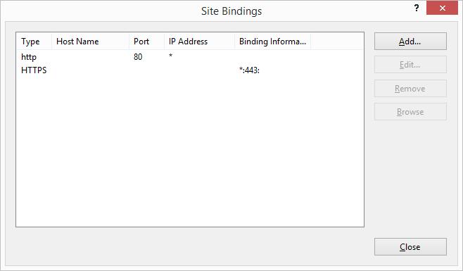 bindding port url