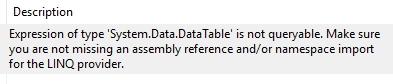 DataTableError2