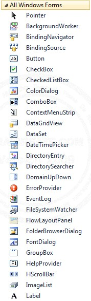 Windows Forms Application Control