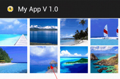Android ImageView and GridView