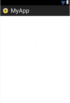ProgressBar (Small) - Android Widgets