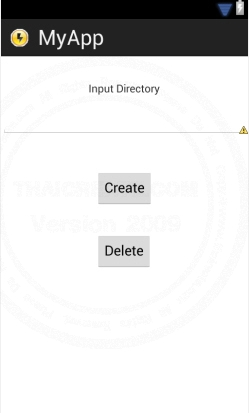 Android Create/Delete Directory(dir) in SD Card (Java Android)