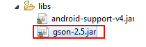 Android and JSON (GSON)