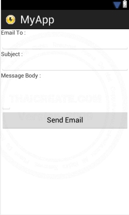 Android Send Email