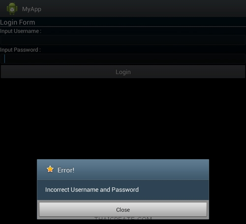 Android Login (PHP/MySQL) Shared Preferences (Session)