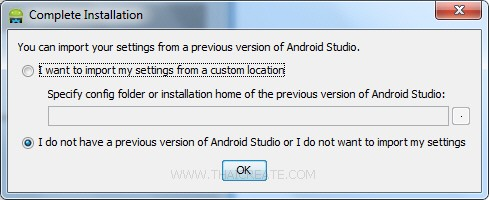 Android Studio Create Run Project