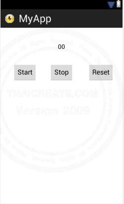 Chronometer - Android Widgets