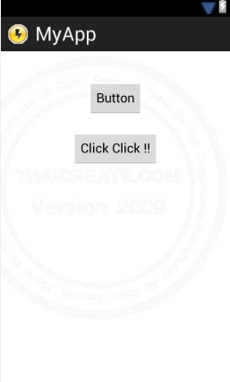 Button - Android Widgets