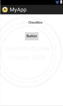 Checkbox - Android Widgets