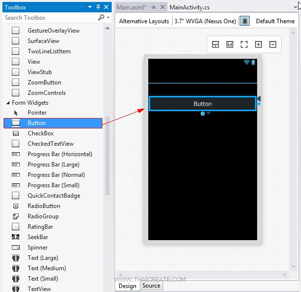 Xamarin Android C# Event Handler