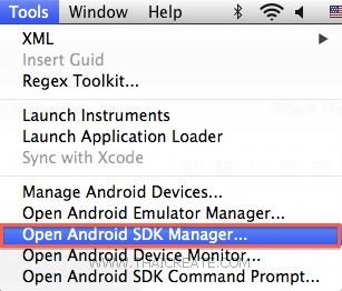 Android C# Xamarin Mac OS X