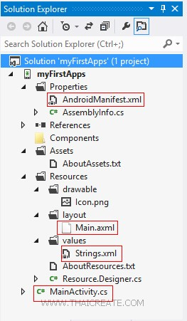Xamarin Android Project