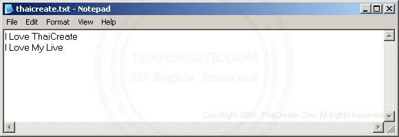 ASP Write Text Files