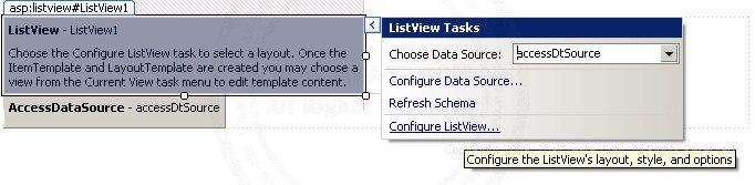 ASP.NET ListView Control