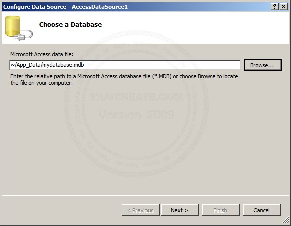 ASP.NET & AccessDataSource and BulletedList