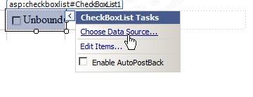 ASP.NET & AccessDataSource and CheckboxList