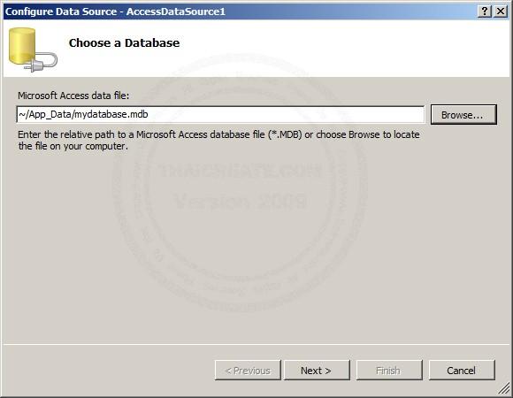 ASP.NET & AccessDataSource and DropDownlist