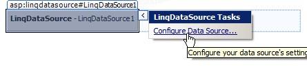 ASP.NET LinqDataSource
