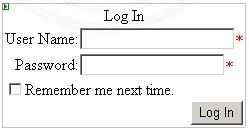 ASP.NET Login
