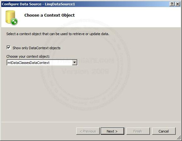ASP.NET QueryExtender