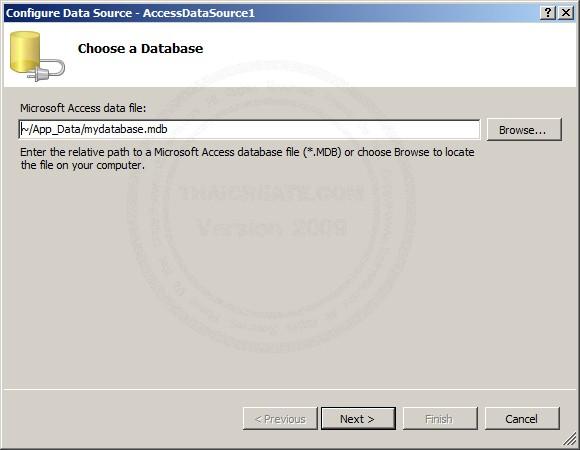 ASP.NET & AccessDataSource and RadioButtonList