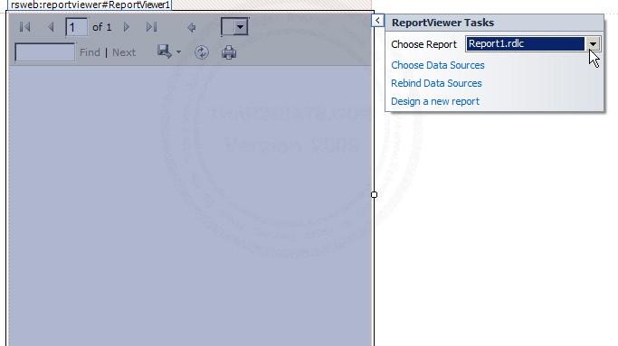 ASP.NET ReportViewer
